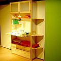 イキクッカの子供部屋家具の1例